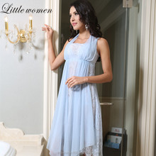 Ladies Lace Pjamas Style Sleeveless Sleepwear Woman Sleepwear