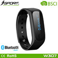 Touch Control Bluetooth Bracelet Pedometer Calorie Counter