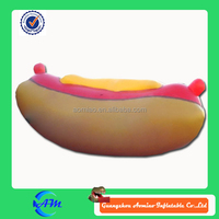 Hot sale giant inflatable hot dog for advertising