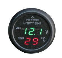 Digital Car Temperature Gauge Hydraulic Temperature Gauge