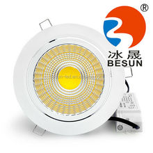 CE,EMC,LVD,RoHS,SAA ERP 30w cob led downlight with Pink lighting color for meat