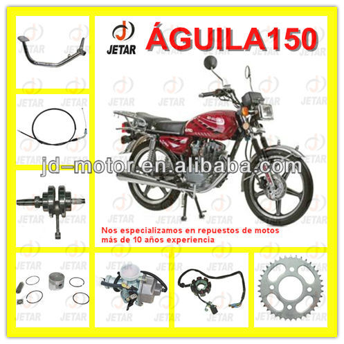 motos spare parts for HAOJIN AGUILA