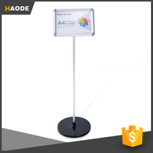 New Style Acrylic Paper Poster Display Stand for Shop