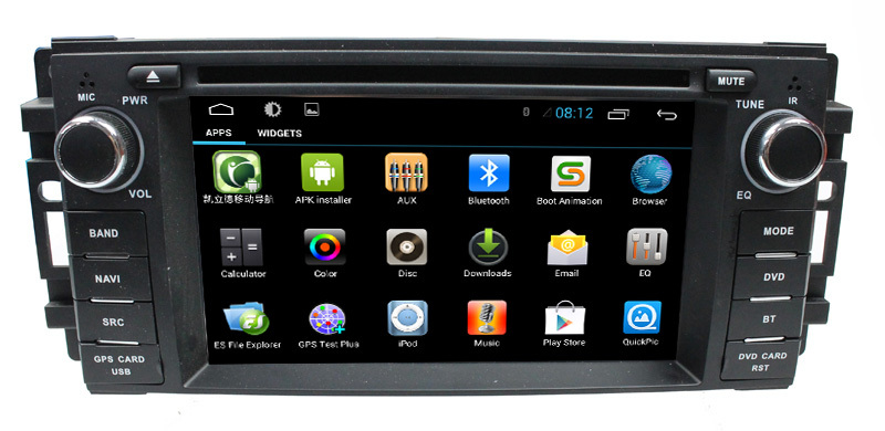 Android 4-core Chrysler/Dodge Car radio GPS with 3G+Wifi+DVD+Radio+BT phonebook+Ipod list +big USB+SWC+ATV+GPS+MP4/MP5+CANBUS