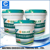 Single component pu waterproofing coating/paint for concrete roof