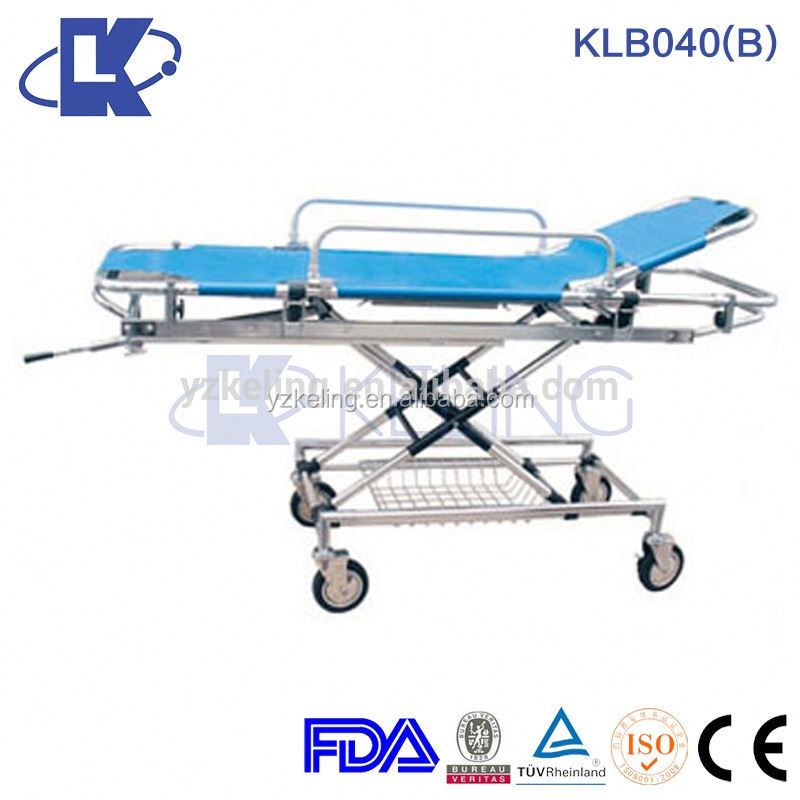 china manufature medical trolley first aid rescue equipment patient