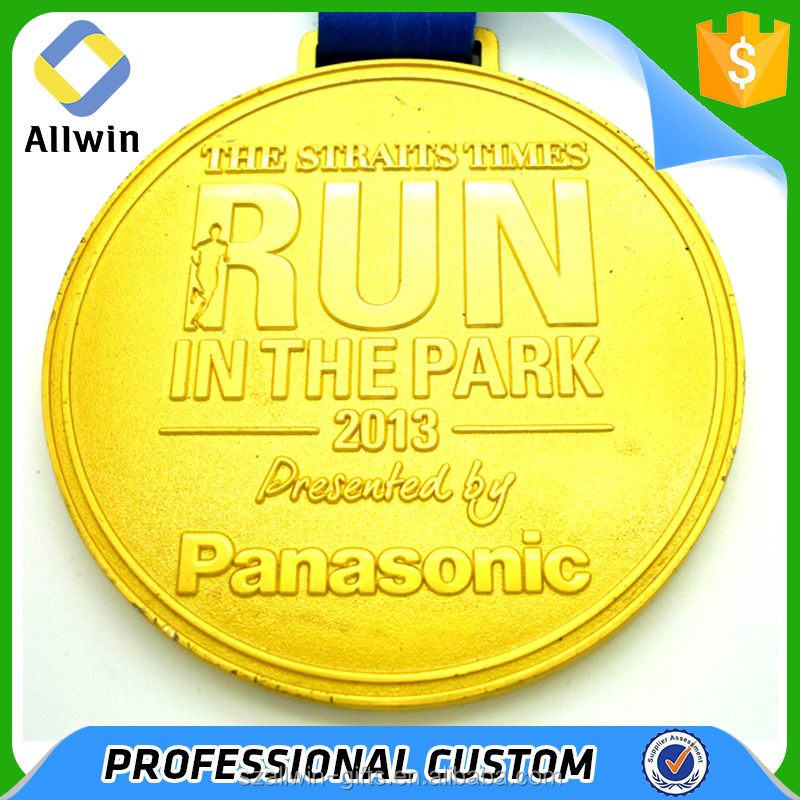 Cheap custom blank engraving running award metal sport trophies medal
