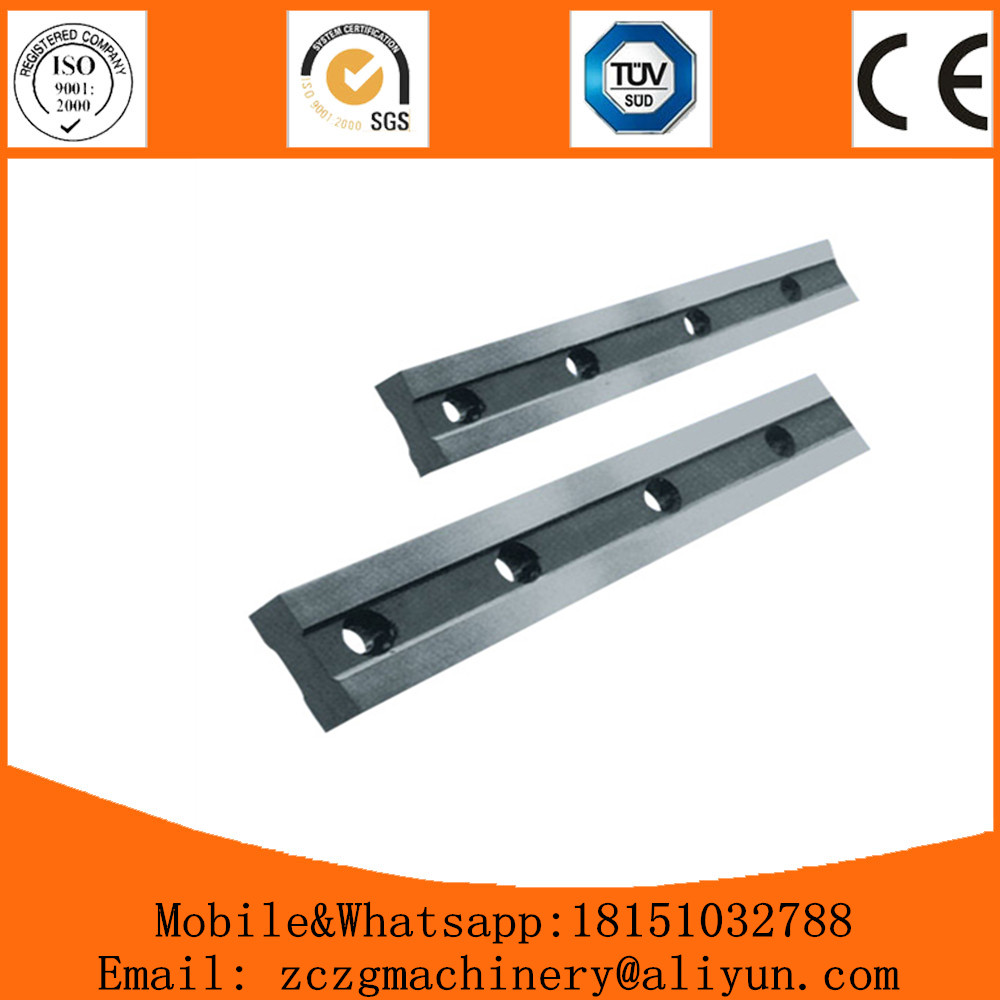 Metal & Metallurgy Carbide Inserts Guillotine Shearing Blade for Mechanical Cutting Machine