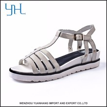 New design low price girls high heel sandals