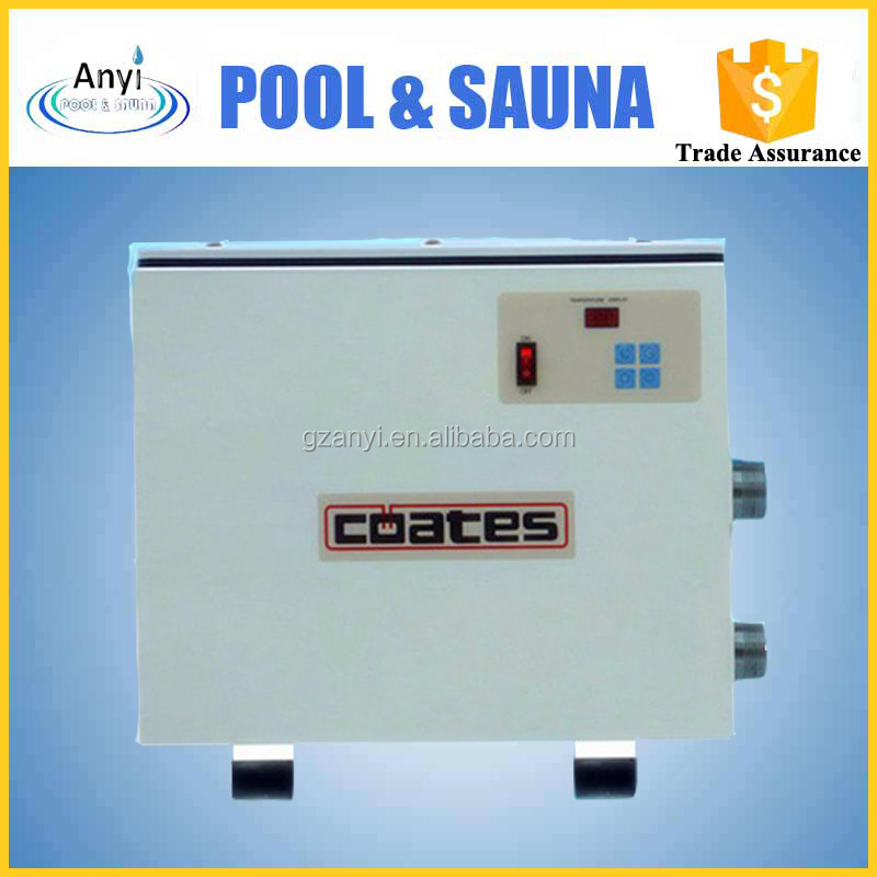 24 KW high efficiency stainless steel electric water spa swimming pool heater