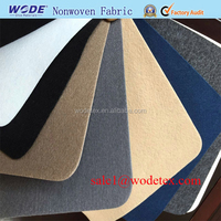 Customized Needle Punched Non woven Polyester Felt Fabric