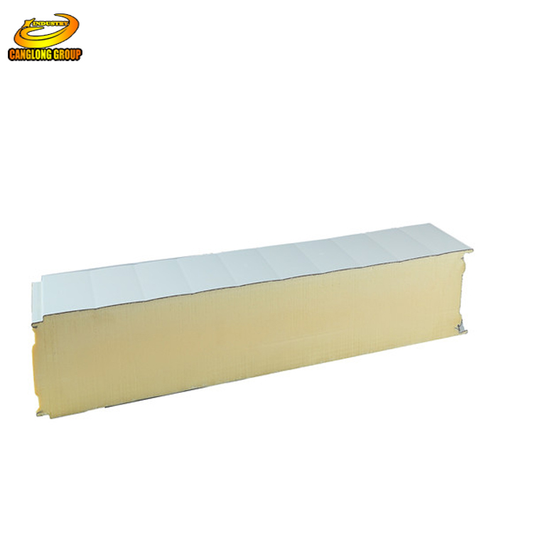 Removable durable frierpoof pu sandwich wall panel