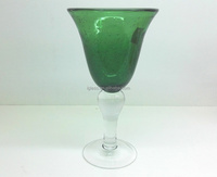 scissor-cut all purpose color bubble wine glass
