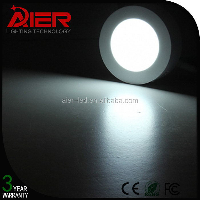 Good install hot-sale flat small round led panel light