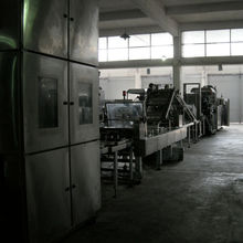 Gas Wafer Baking Line