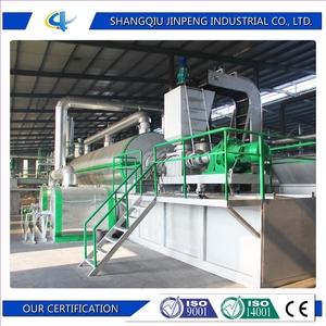 Waste Tire Recycling Continuous Pyrolysis Machine