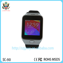 2015 promotional cheap smart watch mobile phone smart hand watch phone