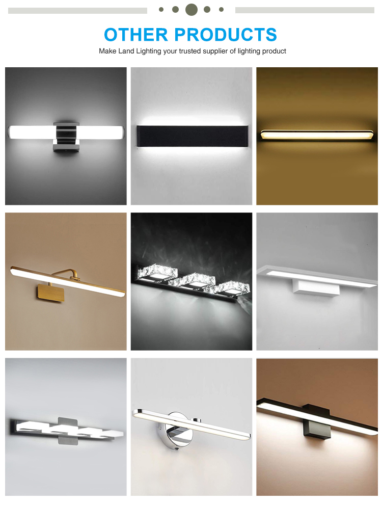 led lamp mirror