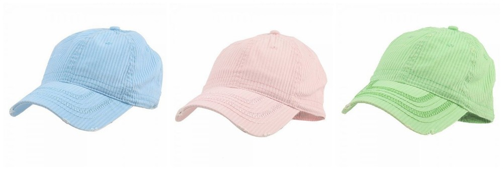 Low Profile Washed Corduroy Cap