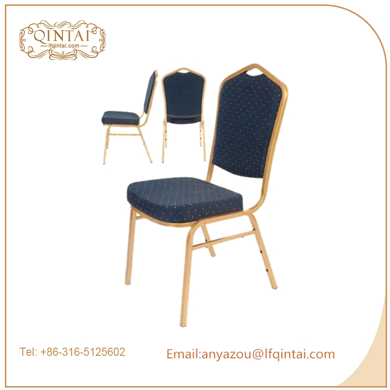 iron frame stacking banquet chair