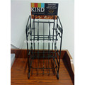 Counter metal wire display rack for cookies