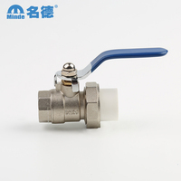 2017 Custom Design female safety brass ball valve