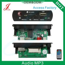 Digital Voice Mp3 Player Speaker Radio FM PCB Car,Motorcycle Mp3 Audio USB Decoder Board Circuit Module