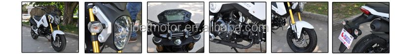 China mini cool motorcycle for sale (ZF125-A)