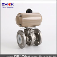 PN16 PFA Lined Ball Valves