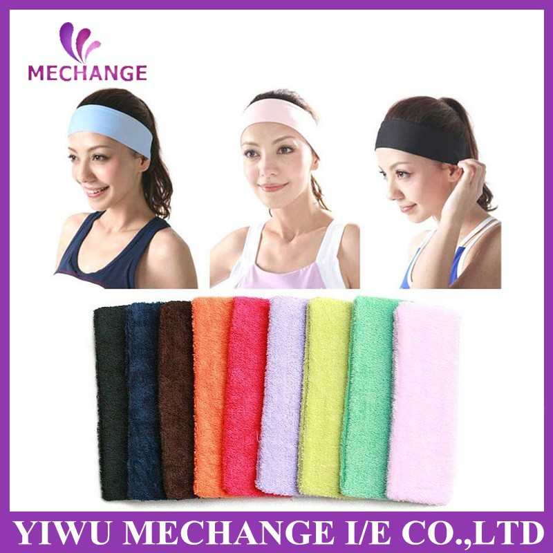 2015 latest hair accessories Colorful Cute hair bands elastic headbands