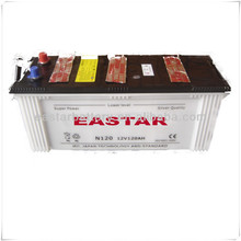 Wholesale used car batteries for sale N120 12V 120Ah for Vehicles