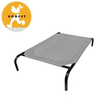 Elevated Metal Dog Kennel Pet Dog Cooling Bed For Summer Outdoors