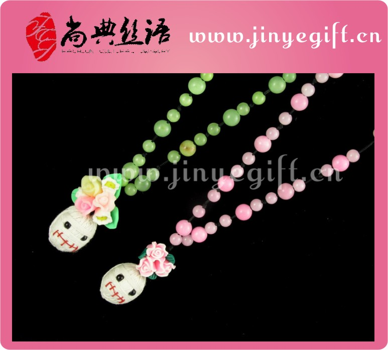Guangzhou Hot Sale Kids Doll Toy Necklace