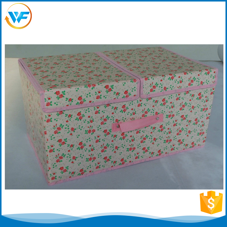 Custom Accessory Non Woven Archival Blanket Storage Box For Sundries