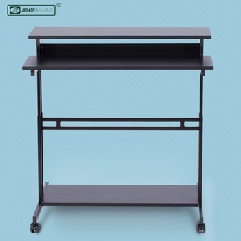 Wholesale High Quality Home Office Furniture Adjustable Lift Up Mobile  Standing Desk