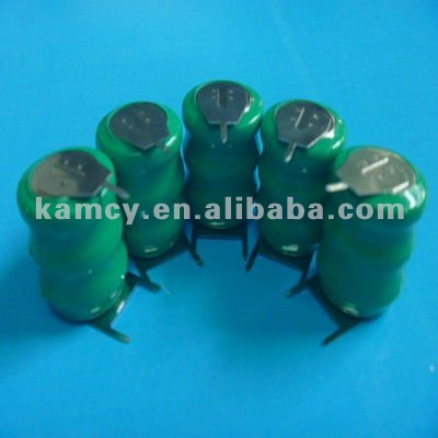 NI-MH rechargeable button cell pack 3.6V 80mAh nimh coin cell battery