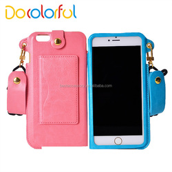 Mobile Phone Leather Case For iPhone 6 6s 6 plus,for iPhone 6 Wallet Case