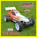 VRX Racing RH501 Super 1/5 Crocodile Gas powered 2WD Buggy with 30CC Engine and 2.4GHz Radio, No RX battery and Charger