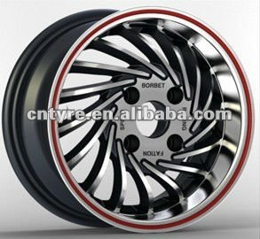 Alloy Aluminum Chrome Mag Tuner Wheels