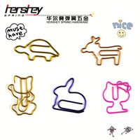 hello kitty paper clips from professional memo clip factory