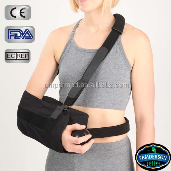 Health care black grip ball orthopedic broken arm sling