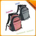 custom male and female skateboard backpack