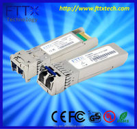 Linksys compatible 10g 2km 1330nm switch sfp ethernet applications fiber optic transmitter