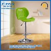 Hot sale bar stool kitchen high chair,swivel adjustable plastic chairs in kitchen