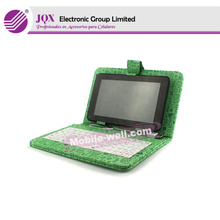 for 7 inch tablet keyboard leather protector case with stand