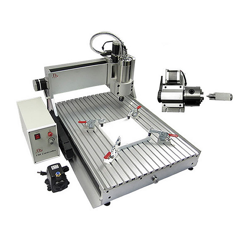 <strong>CNC</strong> 6040 2.2KW USB port 4 axis router <strong>cnc</strong> metal cutting milling machine for metal wood