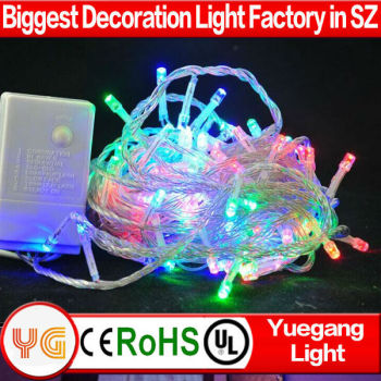 CE ROHS certificate decorative led string lights for outdoor decoration