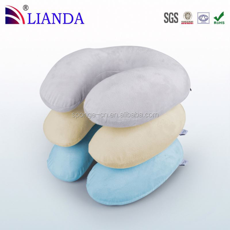 Perfect travel accessories comfort travel pillow,travel pillows waterproof,Extremely Soft and Comfy neck guard u travel pillow