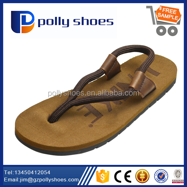 New arrival Hot Selling mens canvas strap sandals for beach