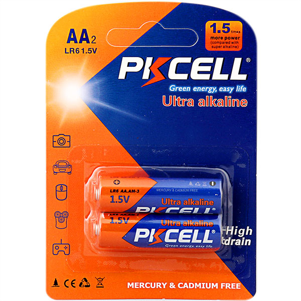 Top Selling PKCELL 1.5v Dry Cell Battery aaa am4 lr03 Alkaline Battery E92 EN92 MN2400 3A For Remote Control,Camera,Toys